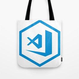 visual studio code sticker Tote Bag