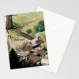 Just a Little Walk in the Woods - BASHers Stationery Cards