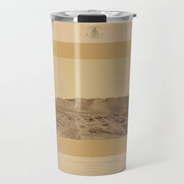 Geological Exploration of the Fortieth Parallel (1869) - Extinct Volcano, Mono Lake, California Travel Mug