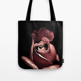 Rose bouton qui s'ouvre colors fashion Jacob's Paris Tote Bag