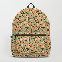 Retro Hearts Backpack