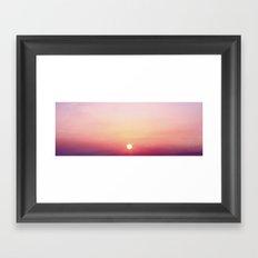DuskySunset Framed Art Print