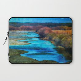 Monet's Rio Las Cruces New Mexico Laptop Sleeve