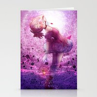 madoka magica Stationery Cards featuring Madoka Magica Madoka Kaname  by RootisTabootus