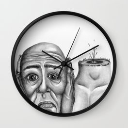 My head is pounding, I can't stop the pounding Wall Clock
