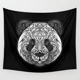 Zen Panda Wall Tapestry