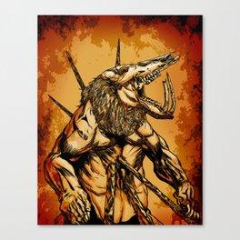 GOLD BEAST Canvas Print