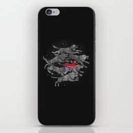 Run with the pack iPhone Skin