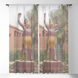 """""""Freedom is not Free!"""" Sheer Curtain"""