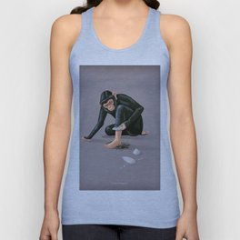 Time to evolve Unisex Tank Top