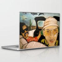 fear and loathing Laptop & iPad Skins featuring Fear & Loathing by Lindsey Pudlewski