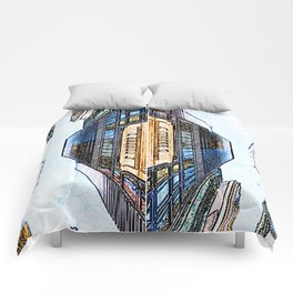 high rise Comforters