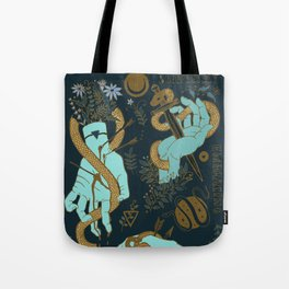 Hunger of the pine Tote Bag