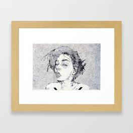 Swallowed Framed Art Print