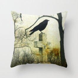 Cross Perch Throw Pillow