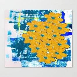 WATERWAYS FLORAL Canvas Print