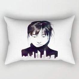 City Girl Rectangular Pillow