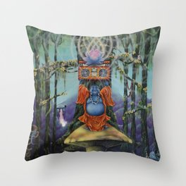 Forest Melody Throw Pillow