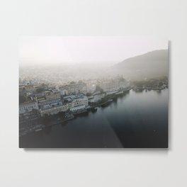 Udaipur Blue Metal Print