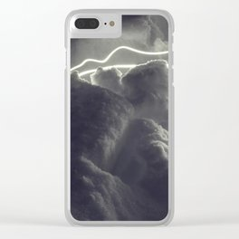 Electric Light Snowrchestra Clear iPhone Case