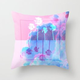 SUMMER WAVES Throw Pillow