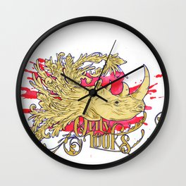 Rhino morph Wall Clock