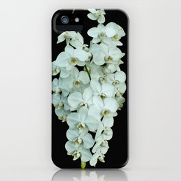 Orchids on the Green iPhone Case