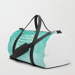 Hope in the Lord Bible Verse, Isaiah 40:31 Duffle Bag