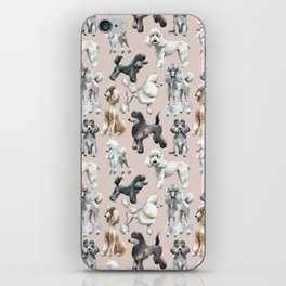 Poodles iPhone Skin