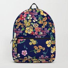 tangled floral Backpack