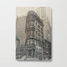On the Town DPPA160607s-14 Metal Print