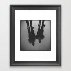 Rain Experts Framed Art Print