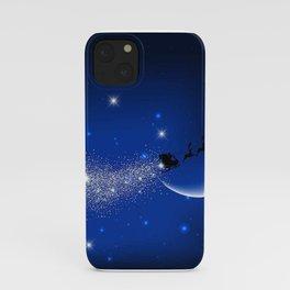Christmas Santa Claus Sleight iPhone Case