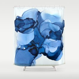 B L U E S 2 Shower Curtain