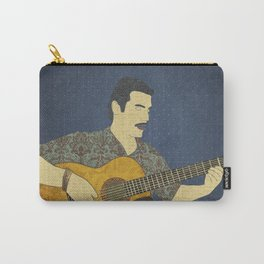 Classical guitar player Carry-All Pouch