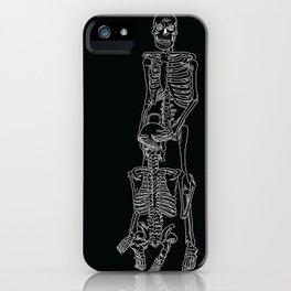 Skeleton Sex #3 iPhone Case
