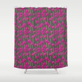 Allium - Pink Shower Curtain