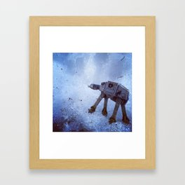 AT-AT Framed Art Print