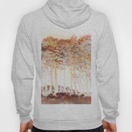 Abstract Monterey Cypress In Infrared with Tint Overlay Hoody