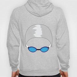 Swim Cap and Goggles Hoody