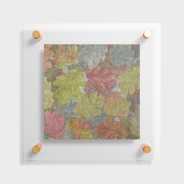 Autumn Leaves / Graphitint Painting Floating Acrylic Print