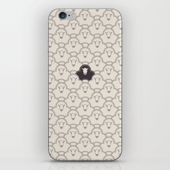 Black Sheep iPhone Skin