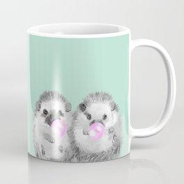 Playful Twins Hedgehog Coffee Mug
