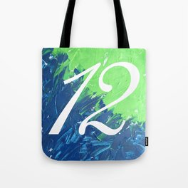 Blue & Green, 12, No. 3 Tote Bag