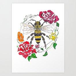 Honey (color) Art Print