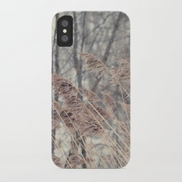 Swaying Grasses iPhone Case