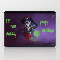 I'm the real evil queen iPad Case