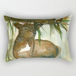King of the forest Rectangular Pillow