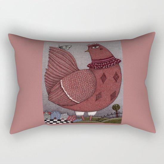It's a Butterfly! Rectangular Pillow