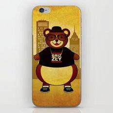 Old School Bear iPhone & iPod Skin